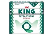 king pepermunt extra strong 5 pak