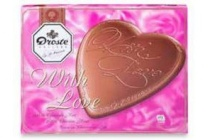 droste melkchocolade hart