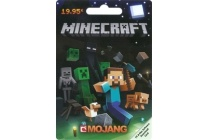 minecraft pre paid card