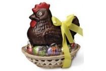 riegelein kip op nest met eieren