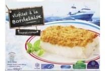 golden seafood visfilet a la bordelaise