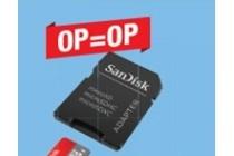 micro sd kaart sandisk ultra 16gb