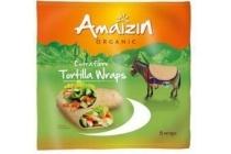 amaizin tortillawraps extra fibre