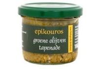 epikouros groene olijventapenade