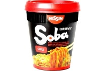 nissin soba chili noodles cup