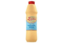 zaanse halfvolle mayonaise 750 ml