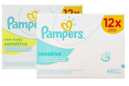 pampers lotiondoekjes
