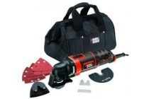 black en amp decker multitool 280 watt in softbag