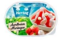 hertog ijs aarbei meringue 900 ml