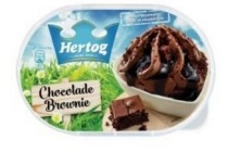 hertog chocolade brownie ijs 900 ml