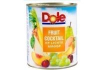 dole fruitcocktail op lichte siroop