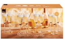 royal leerdam time to party champagneglazen 18 stuks