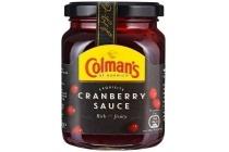 colman s cranberry sauce