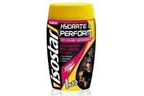 isostar hydrate en perform sport drink cranberry en red fruits