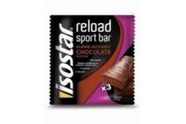 isostar after sport reload bars chocolate