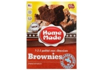 homemade complete mix brownies