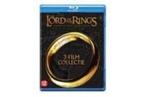 de gehele lord of the rings trilogie op blu ray