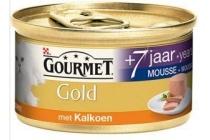 gourmet gold mousse senior kalkoen