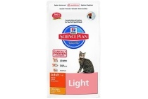 hill s science plan feline adult light chicken