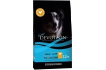 devotion hondenvoer adult light chicken en rice 12 kilo