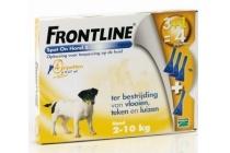 frontline spot on hond 2 10 kg