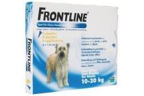 frontline spot on hond 10 20 kg