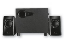 trust speakerset avora subwoofer 2 1 pc luidspreker