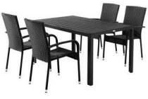 jutlandia tafel gudhjem stapelstoelen