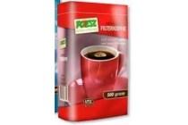 poiesz filterkoffie roodmerk of cafeinevrij