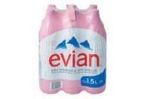 evian mineraalwater 6 x 1 5 liter