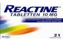 reactine hooikoortstabletten nu voor 9 69