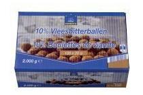 horeca select 10 vleesbiterballen