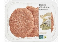 plus blonde d aquitaine hamburgers