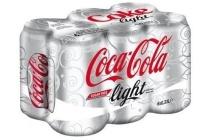 coca cola light sixpack
