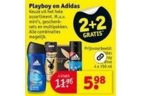 playboy en adidas