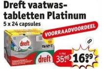 dreft vaatwastabletten platinum