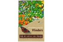 buzzy flower mix vlinders laag