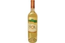sol de agosto spaanse wijn wit