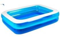 zwembad blauw rechthoekig