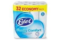edet family comfort toiletpapier