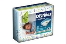 huggies drynites bed mats