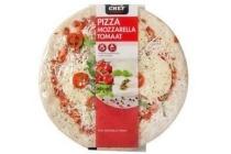 daily chef pizza mozzarella tomaat