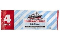fisherman s friend suikervrij original 4 pack