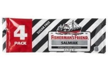 fisherman s friend suikervrij salmiak 4 pack