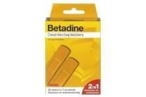 betadine desinfectiepleisters strips
