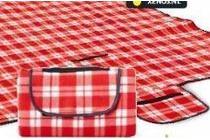 geruite strand picknick mat