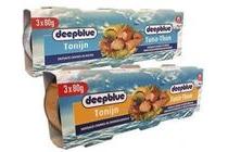 deep blue tonijnstukken