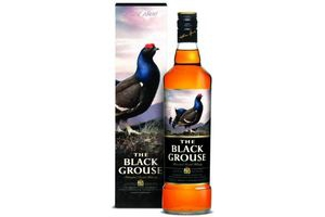 famous grouse scotch whisky black