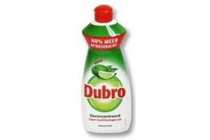 dubro afwasmiddel limoen fris