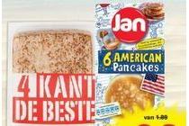 jan american pancakes of vierkante pannenkoeken